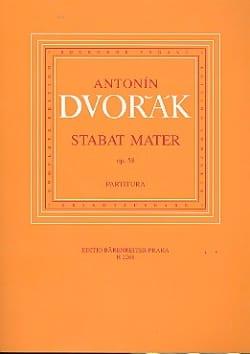 Stabat Mater, op. 58 - Conducteur - Antonin Dvorak - laflutedepan.com