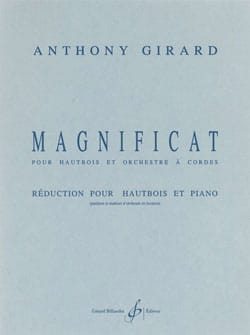 Anthony Girard - Magnificat - Partition - di-arezzo.fr