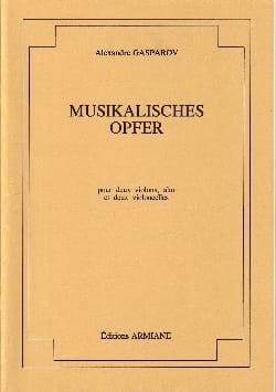 Musikalisches Opfer - Conducteur + parties laflutedepan
