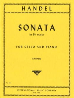 Sonata in Bb major – Cello - laflutedepan.com