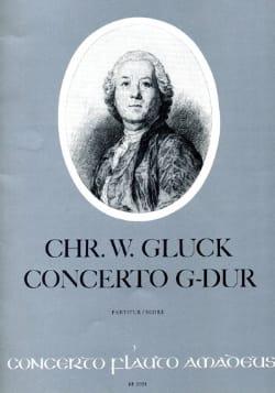 Christoph Willibald Gluck - Concerto G-Dur - Flöte und Orchester - Partition - di-arezzo.fr