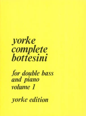 Complete Bottesini Volume 1 Giovanni Bottesini Partition laflutedepan