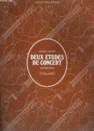 André Jolivet - 2 Concert Etudes For Guitar - Sheet Music - di-arezzo.co.uk