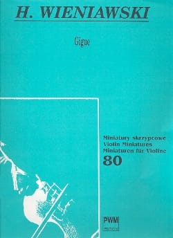 WIENIAWSKI - Gigue op. 23 - Sheet Music - di-arezzo.co.uk