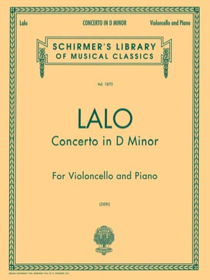Edouard Lalo - Concerto in D Minor - Sheet Music - di-arezzo.co.uk