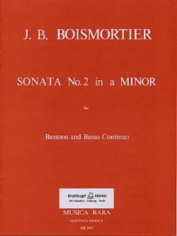 Sonata n° 2 in A minor – Bassoon and Bc - laflutedepan.com