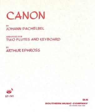 Canon PACHELBEL Partition Trios - laflutedepan