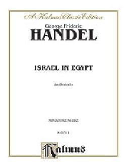 Israel in Egypt - Score - Georg Friedrich Haendel - laflutedepan.com