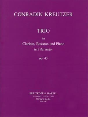 Trio in E flat major op. 43 –Clarinet bassoon piano - laflutedepan.com