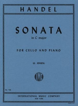 Sonata in C major -Cello HAENDEL Partition Violoncelle - laflutedepan