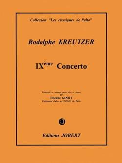 Rodolphe Kreutzer - Concerto No. 9 1st solo - Sheet Music - di-arezzo.co.uk