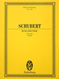 SCHUBERT - Rosamunde, op. 26 D 644 Open - Partitur - Sheet Music - di-arezzo.co.uk