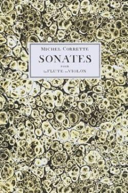 Michel Corrette - 6 Sonates pour la flûte ou violon avec la basse op. 13 - Partition - di-arezzo.fr