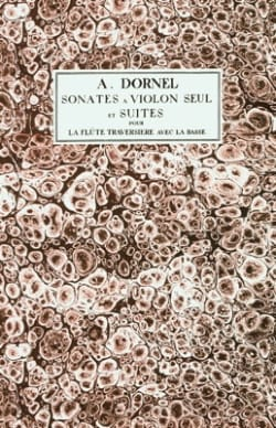 Antoine Dornel - Violin Sonatas and Suites for the Flute with Bass, Op. 2 - Sheet Music - di-arezzo.com