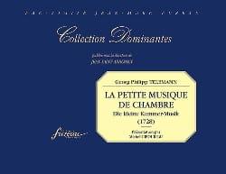 Georg Philipp Telemann - La petite musique de chambre - Fac Similé - Partition - di-arezzo.fr
