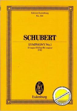 Franz Schubert - Symphonie Nr. 1 D-Dur D82 – Partitur - Partition - di-arezzo.fr