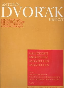 DVORAK - Bagatelles op. 47 - parts - Sheet Music - di-arezzo.co.uk