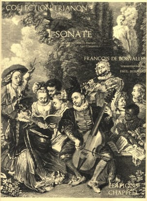 François de Boisvallée - 1st Sonata - Flute and harp or harpsichord - Partition - di-arezzo.co.uk