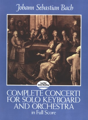 BACH - Complete Concerto For Solo Keyboard And Orchestra - Full Score - Sheet Music - di-arezzo.com