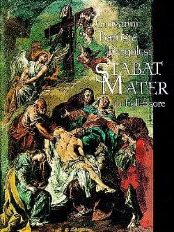 Giovanni Battista Pergolesi - Stabat Mater - Score - Partition - di-arezzo.fr