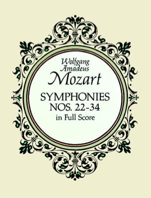 MOZART - Symphonies N ° 22-34 - Full Score - Sheet Music - di-arezzo.co.uk