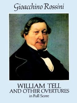 Gioacchino Rossini - William Tell And Other Overtures - Full Score - Sheet Music - di-arezzo.co.uk