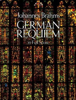 German Requiem - Full Score BRAHMS Partition laflutedepan