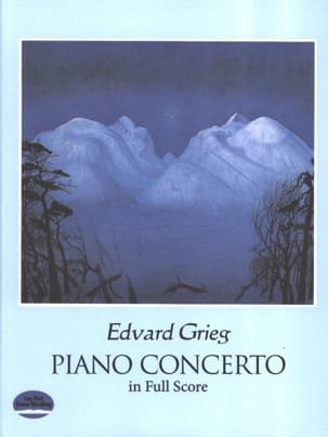 Edvard Grieg - Piano Concerto Op. 16 - Sheet Music - di-arezzo.co.uk