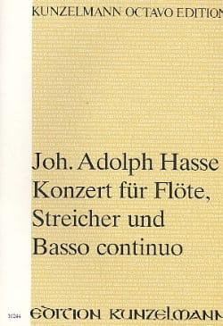 Konzert G-Dur für Flöte op. 3 n° 7 - Partitur - laflutedepan.com
