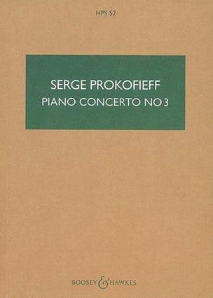 Concerto Piano N° 3 Op. 26 Serge Prokofiev Partition laflutedepan
