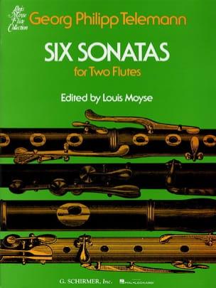 TELEMANN - 6 Sonatas - 2 Flutes - Partition - di-arezzo.fr