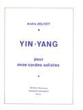 André Jolivet - Yin-Yang - Conducteur - Partition - di-arezzo.fr