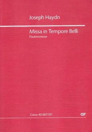 Missa in tempore belli (Paukenmesse) – Partitur - laflutedepan.com