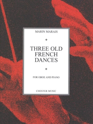 Three old french dances - Oboe Marin Marais Partition laflutedepan