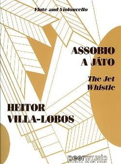 Assobio a Jato - Flute violoncello VILLA-LOBOS Partition laflutedepan