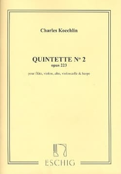 Charles Koechlin - Quintette n° 2 op. 223 – Parties - Partition - di-arezzo.fr