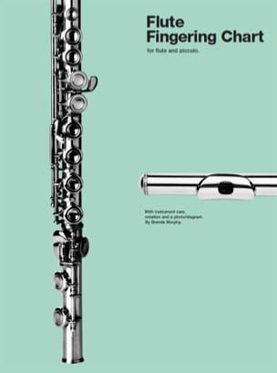 Flute Fingering Chart - Brenda Murphy - Partition - laflutedepan.com