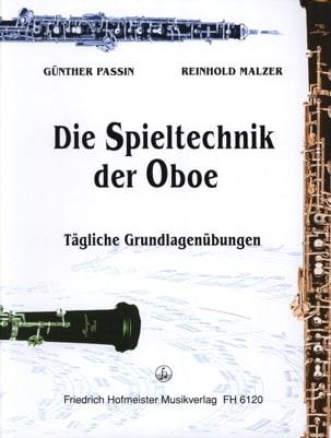 Die Spieltechnik Der Oboe Passin / Malzer Partition laflutedepan