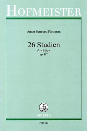 Anton Bernhard Fürstenau - 26 Studien Op. 107 - Sheet Music - di-arezzo.co.uk