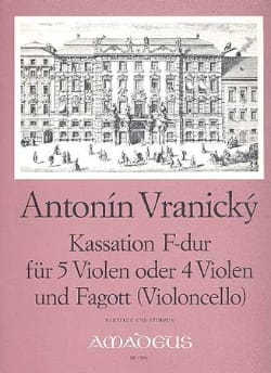 Antonin Vranicky - Kassation F-Dur - Sheet Music - di-arezzo.co.uk