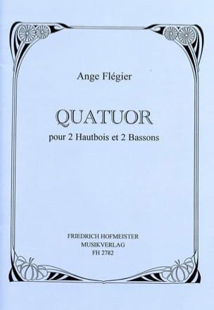 Ange Flégier - Quatuor – 2 hautbois et 2 bassons – Partitur + Stimmen - Partition - di-arezzo.fr