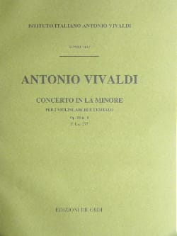 VIVALDI - Concerto in the min. - F. 1 No. 177 - Partitura - Sheet Music - di-arezzo.co.uk
