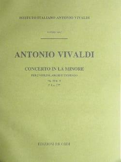 Concerto en la min. - F. 1 n° 177 - Partitura VIVALDI laflutedepan