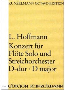 Konzert für Flöte D-Dur – Partitur - laflutedepan.com