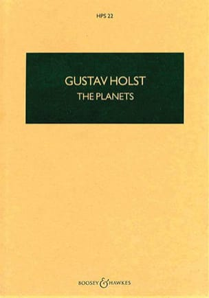 Gustav Holst - The Planets op. 32 - Sheet Music - di-arezzo.com