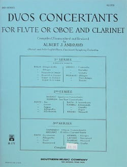 Concert Duets - 2nd Series - Clarinet Flute - Sheet Music - di-arezzo.co.uk