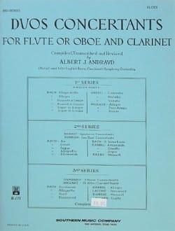 Duos concertants - 3ème Série - Flûte clarinette laflutedepan