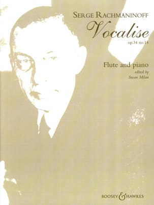 Vocalise op. 34 n° 14 - Flûte piano RACHMANINOV Partition laflutedepan