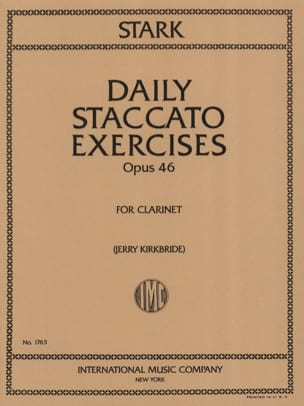 Robert Stark - Daily Staccato Exercises Op. 46 - Partition - di-arezzo.fr