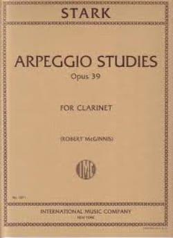 Robert Stark - Arpeggio Studies op. 39 - Partitura - di-arezzo.es